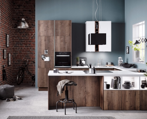 Vintage Oak Kitchen